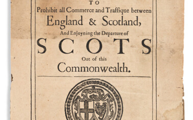 England and Wales Parliament Public General Acts 1650 An Act