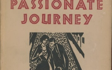 Frans Masereel - Passionate Journey: A Novel in 165 Woodcuts. Introduction by Thomas Mann. 1st Edition. New York: Lear, 1948.