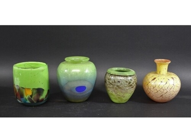 STUDIO GLASS a variety of contemporary glass items including...