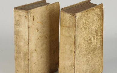 Two 17th century Hebrew Bibles