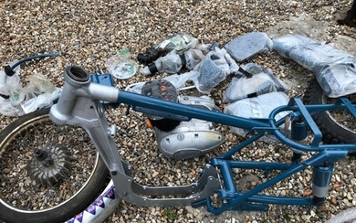 1961 Greeves 32DC Sports Twin Frame number 61/3582 Engine...