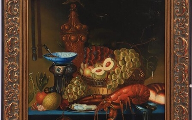 (-), Anonymous, Still life after an antique example,...