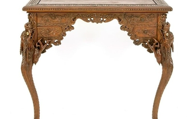 Asian console table 20th centu
