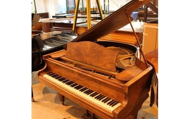 Bechstein London (c1930s) A 4ft 8in grand piano in a figured...