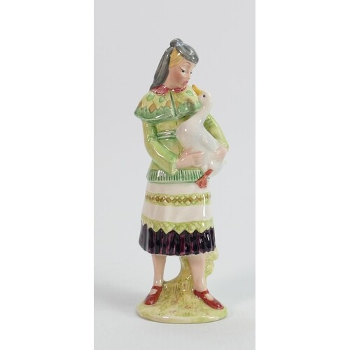 Beswick figure of a lady with duck 1247