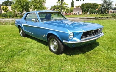 Ford - Mustang Hardtop Coupe V8 - 1968
