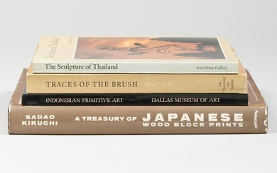 Group of Eleven Books and Catalogs Relating to Asian