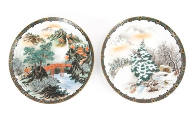 PAIR OF JAPANESE MEIJI PERIOD CHARGERS