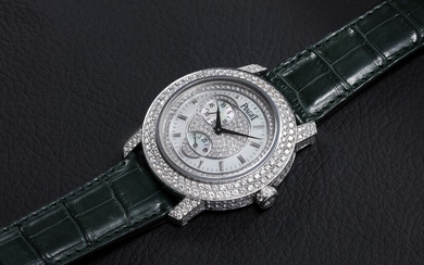 PIAGET, A WHITE GOLD DIAMOND-SET SHEIKA AUTOMATIC WRISTWATCH