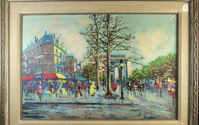 Painting, Champs-Elysees