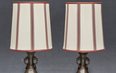 Pair of table lamps China, 20th Century
