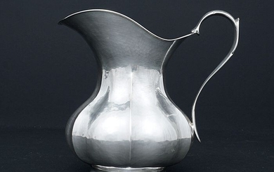Pitcher, Wine / Water Pitcher (1) - .800 silver - Italy - Second half 20th century