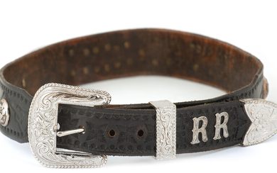 Roy Rogers' Personal Belt and Buckle