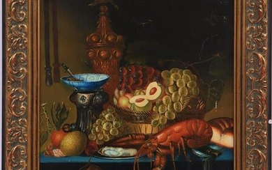 Still life after an antique example