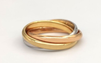 18 kt. Pink gold, White gold, Yellow gold - Ring