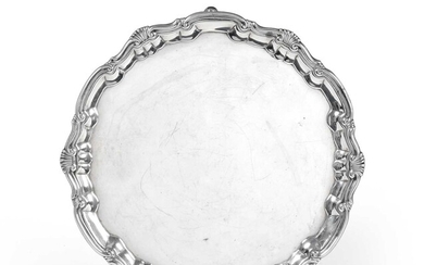 A George II Silver Salver, by William Peaston, London,...