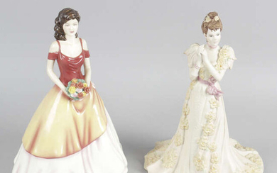 A collection of assorted items to include Poole lamp base, Lladro and Doulton figures, Etc.