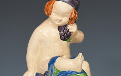 'Buster Girl' M49 an Ashtead Pottery figure designed by Phoebe Stabler