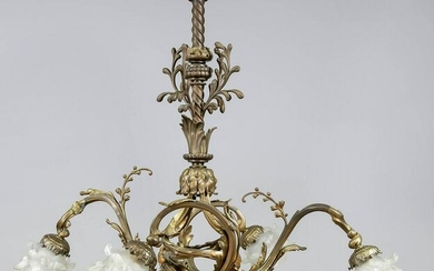 Ceiling lamp, end of the 19th cen