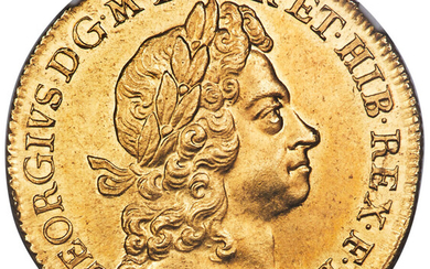 Great Britain: , George I gold 2 Guineas 1726 MS65 NGC,...