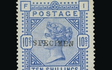 Great Britain - QV (surface printed) : (SG 182s) 1883-84 10s...