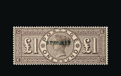 Great Britain - QV (surface printed) : (SG 185s) 1884 Crowns...