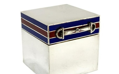 Gucci Italian 925 Sterling Silver Table Lighter