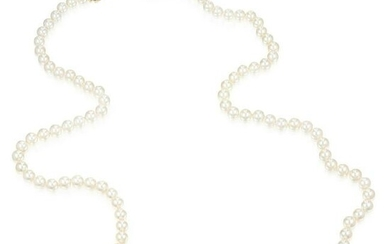 Mikimoto Cultured Pearl Opera Length Necklace