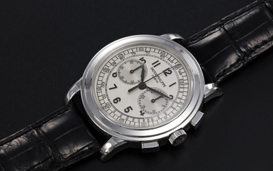 PATEK PHILIPPE, REF. 5070G, A WHITE GOLD CHRONOGRAPH WRISTWATCH