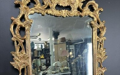 Rococo Gilt Carved Wood Mirror