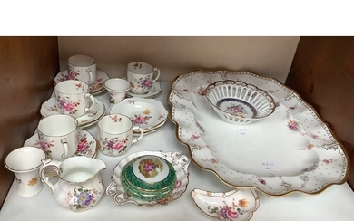 SECTION 5. A small quantity of Royal Crown Derby, Posies col...