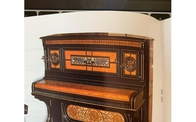 Steinway (c1882) An upright piano in an ebonised and satinwo...
