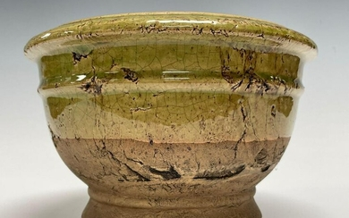 19th Century French Earthenware Partial Glaze