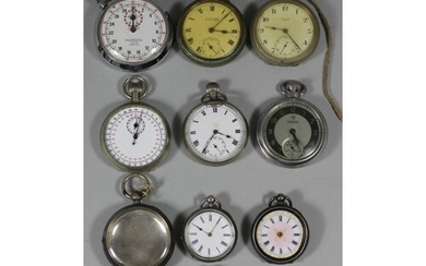 A Military issue stop watch, Broad Arrow, T.P., 1/10, 3103/6...