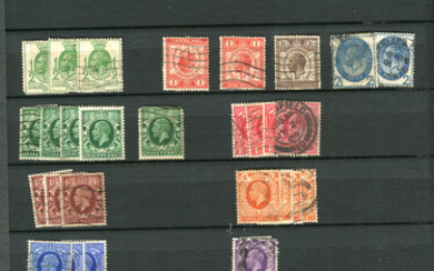 A collection of stamps in fourteen albums and stock books, including Great Britain mint and used, wi