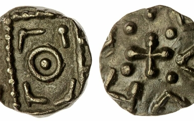 Anglo Saxon-England, Continental Phase (695-740), Sceat, Series D, Type 8, Anonymous Issue, cen...