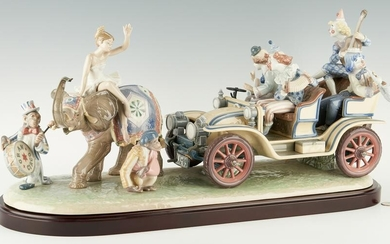 Limited Edition Lladro Figure Group, Circus Parade