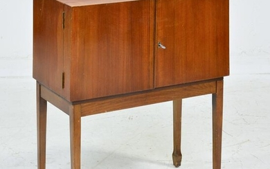 Mid Century Modern Sewing Cabinet / Table