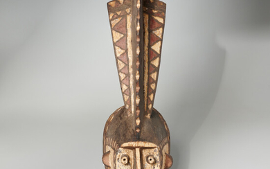 Mossi Peoples, therianthropomorphic mask