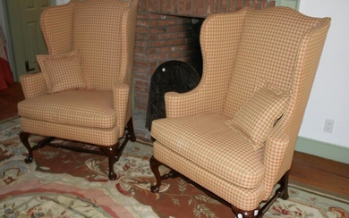 Pair of Southwind Connoisseurs Wing Back Chairs