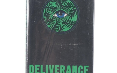 """Signed First Edition """"Deliverance"""" by James Dickey, 1970"""