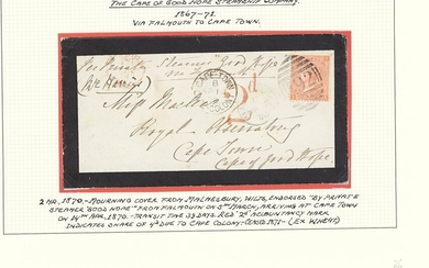 "South African Maritime Mail from 1677 The ""Joachim"" Collection The Cape of Good Hope Steamship..."