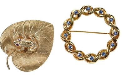 Tiffany & Co. and Cellino Brooches