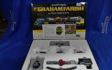 A Grahaam Farish by Bachmann boxed 'Ready to run Starter Tra...