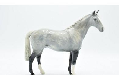 Beswick Grey Roan hunter horse H260, limited edition. In goo...