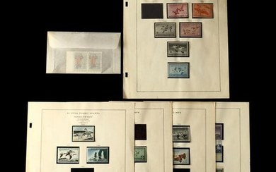 Group of 20th Century Duck Stamps