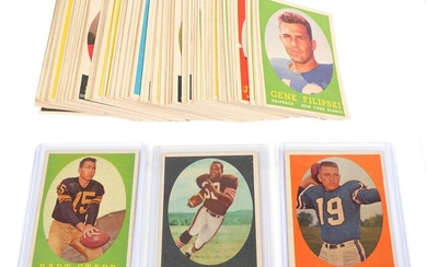 JIM BROWN Rookie 1958 Topps Complete Set