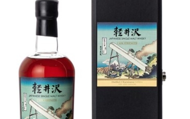 輕井澤冨嶽三十六景系列 Karuizawa 36 Views of Mount Fuji 34th Release 61.4 abv NV (1 BT70)