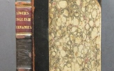 Lower, English Surnames, 1st/1st 1842, illustrated