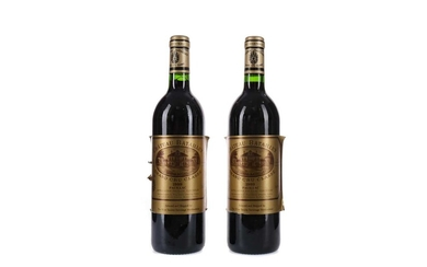 TWO BOTTLES OF CHATEAU BATAILLEY 1989